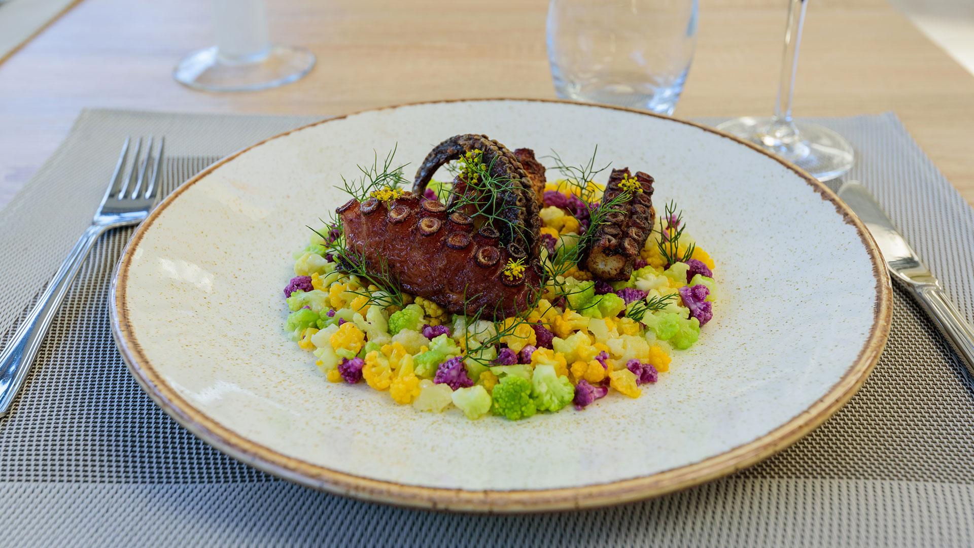Restaurant fontvieille poulpe - Hôtel 3 étoiles Provence