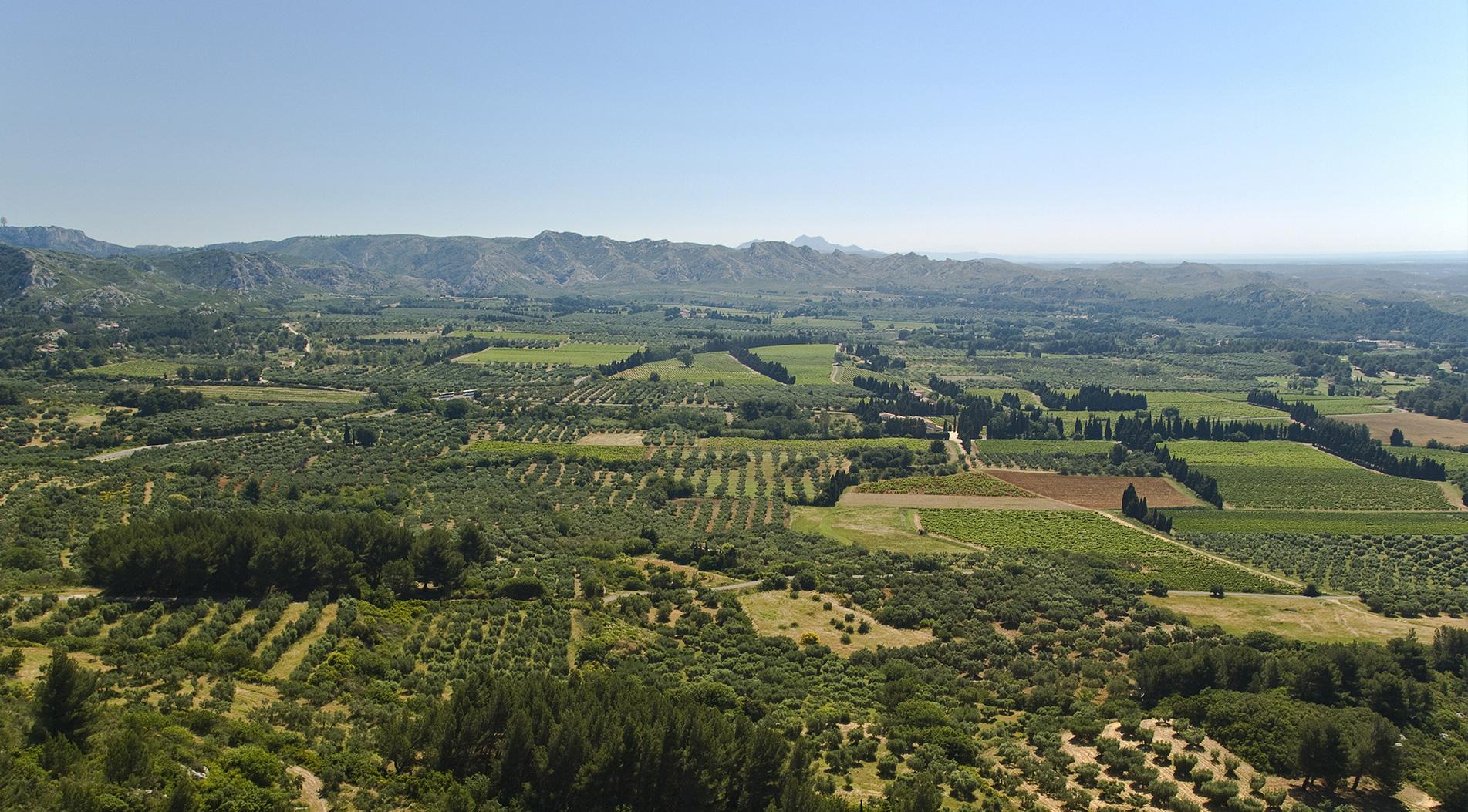 Vue sur la Provence