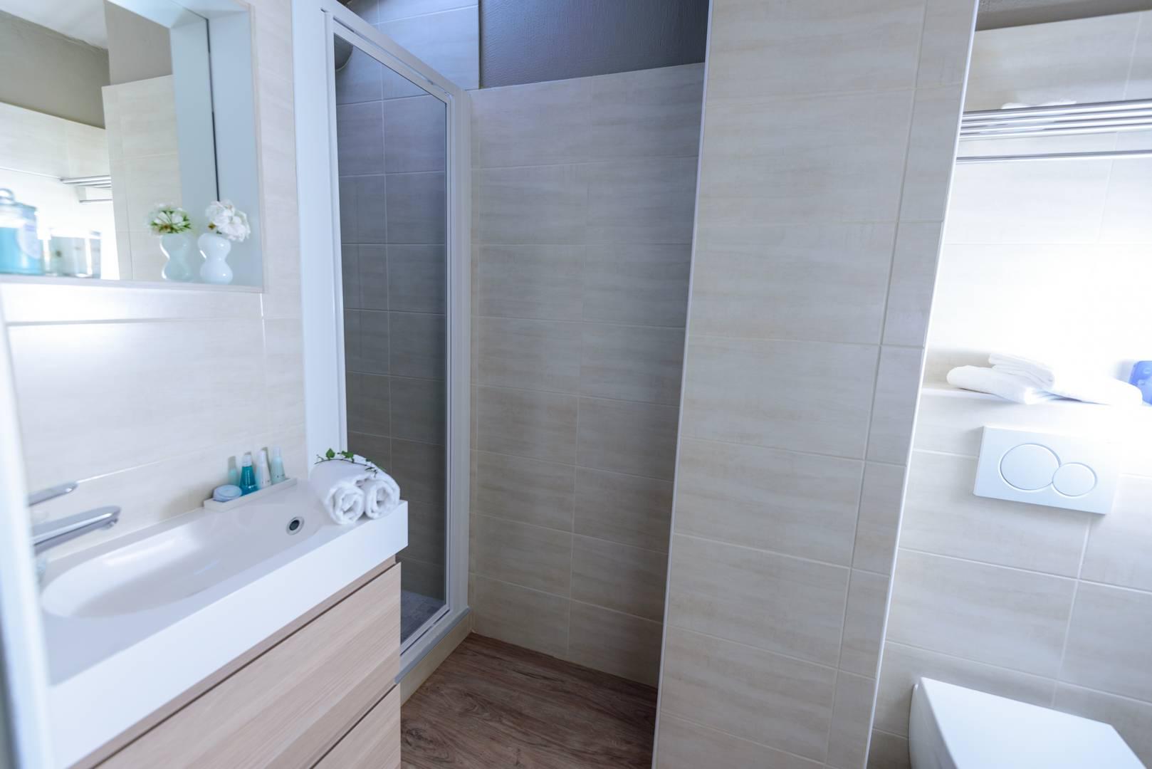 Salle de bain hôtel de charme en Provence