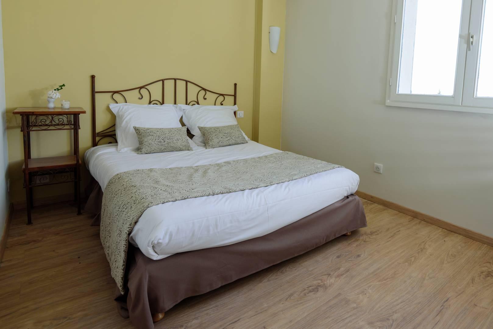 Chambre d'hôtel de charme en Provence