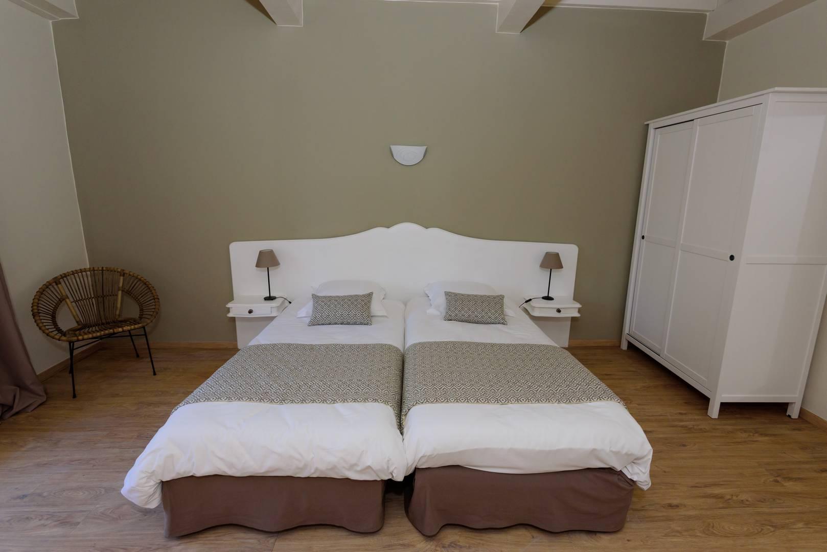 Chambre double en Provence