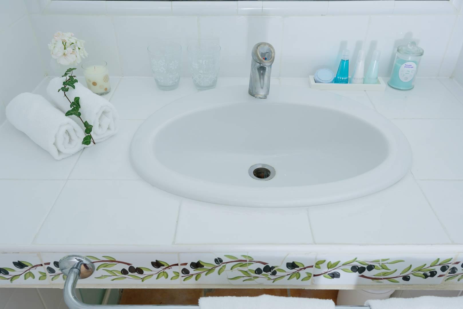 Salle de bain hôtel de charme
