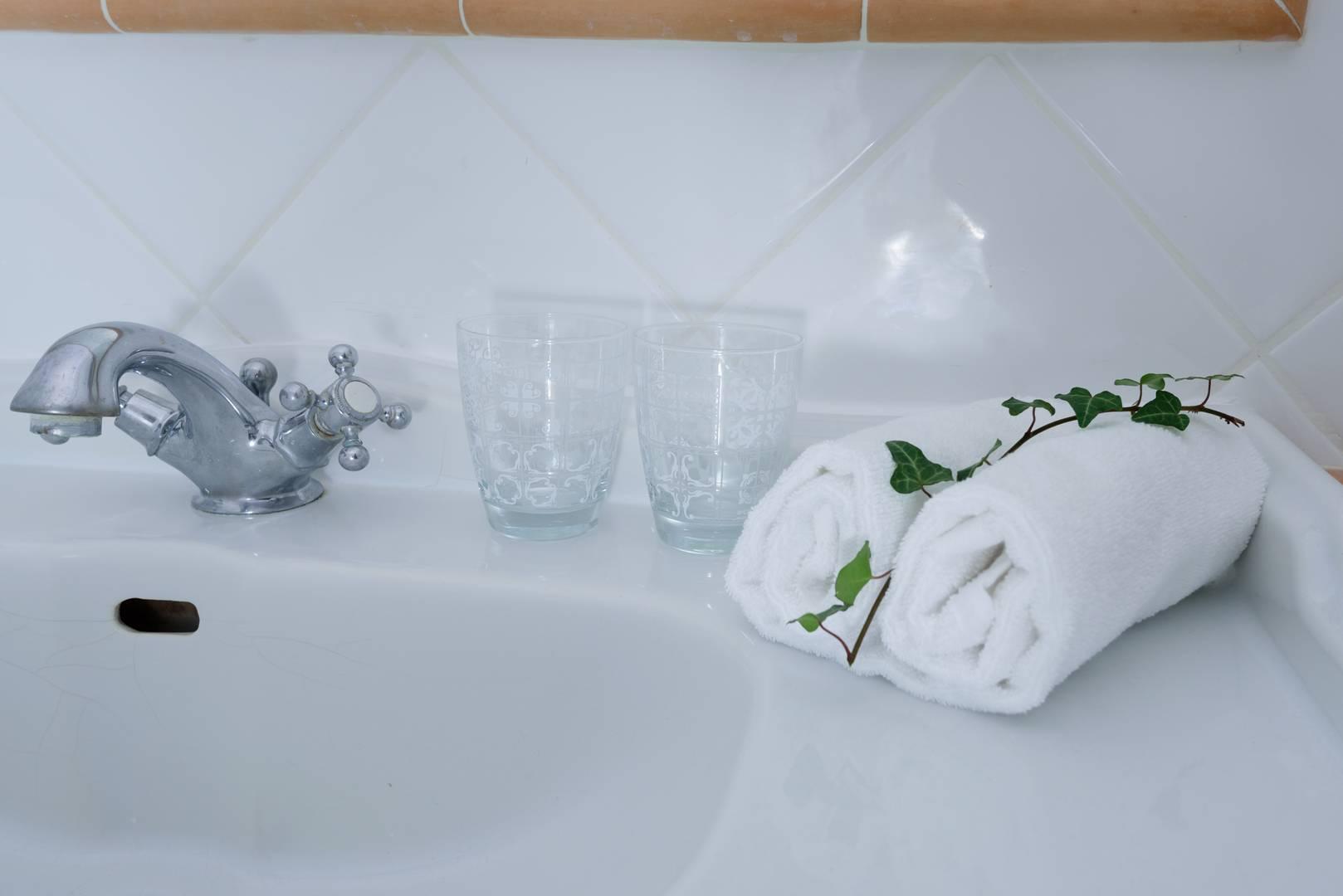 Serviette de bain Hotel Belesso 3 étoiles en Provence