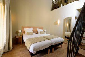 Chambre Duplex d'un hôtel de charme en Provence