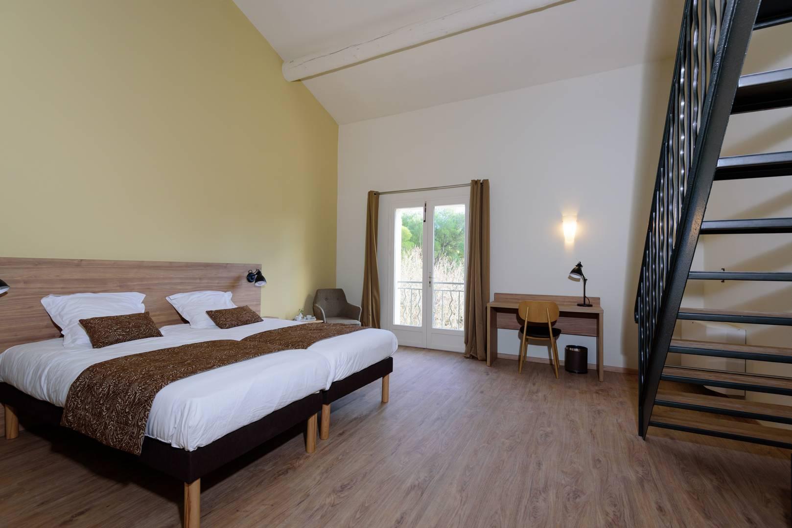 Chambres d'hôtel de charme en Provence avec vue