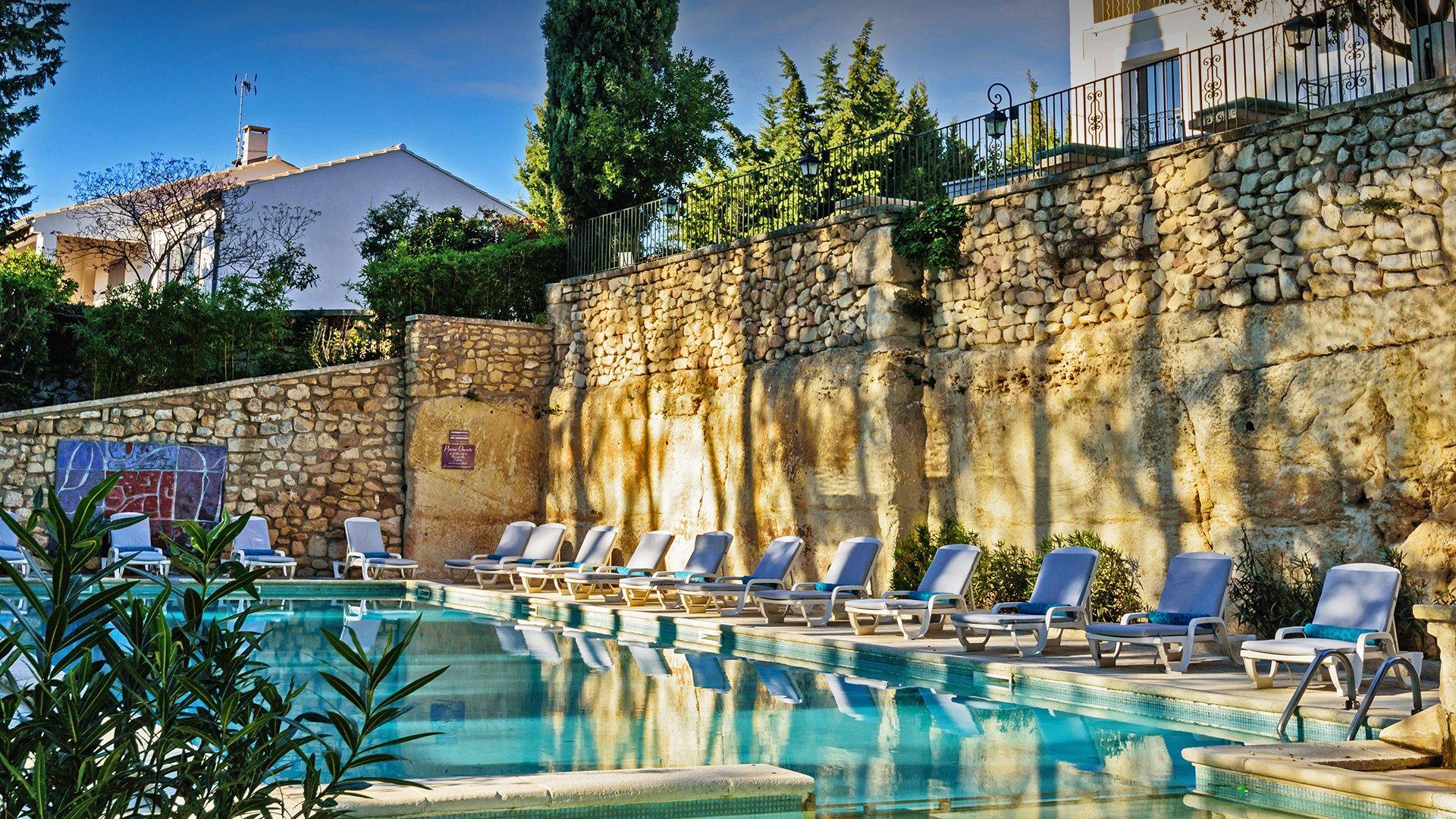 piscine d'hôtel de charme en Provence