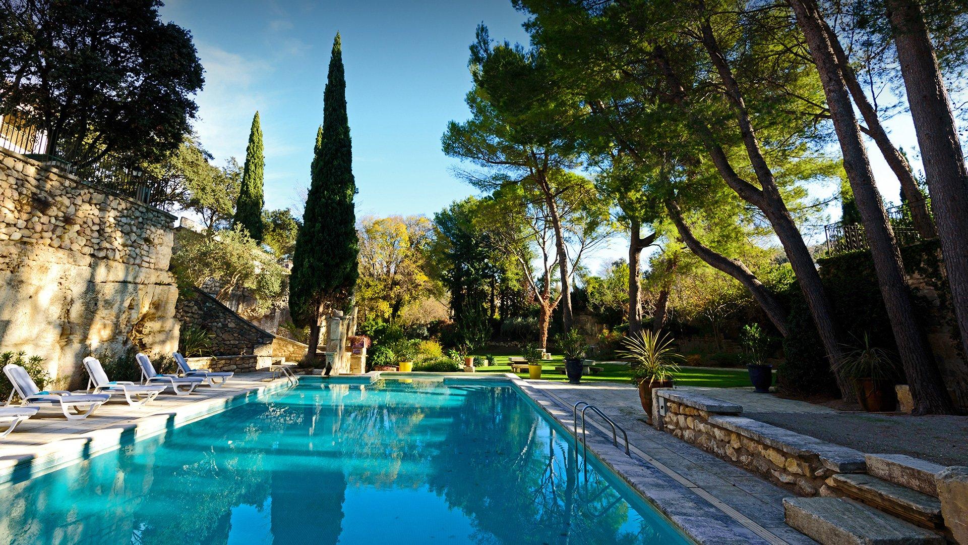 piscine hôtel de charme Provence Belesso