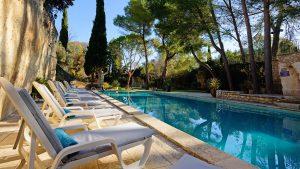 Piscine hôtel de charme Belesso en Provence