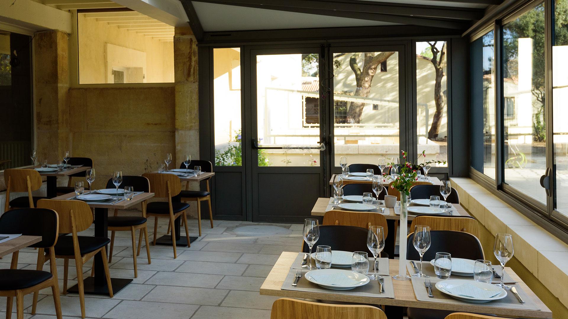 Restaurant près de Saint Rémy de Provence