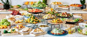 Buffet de brunch en Provence