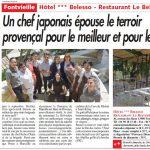 Article hôtel de charme en Provence