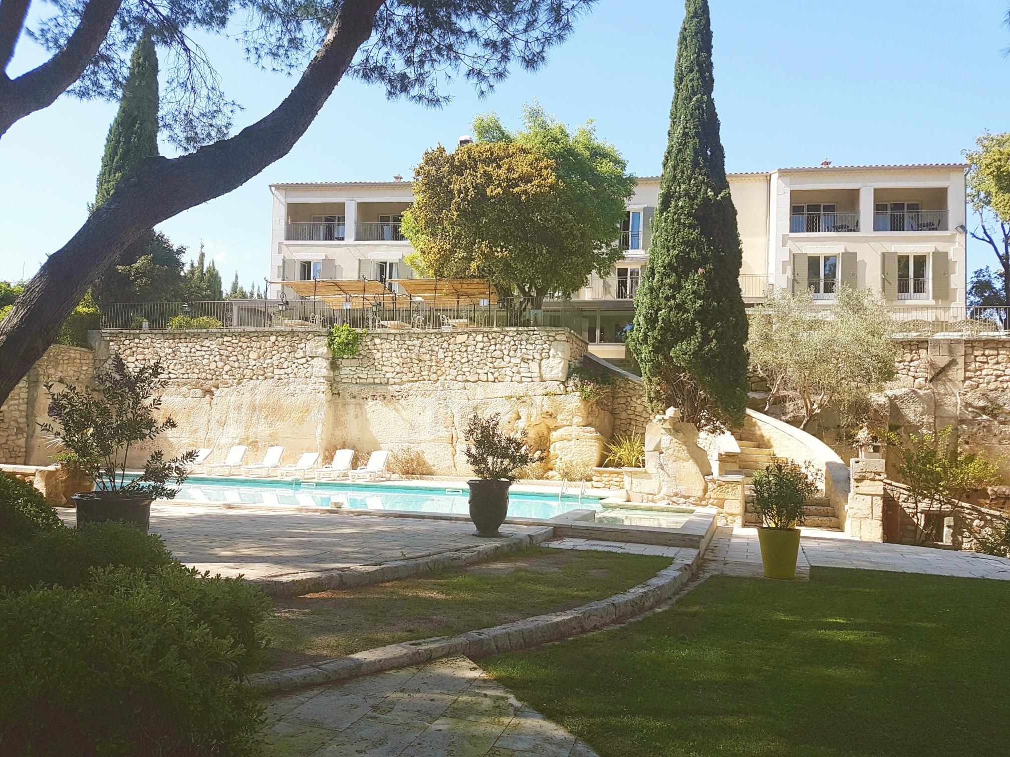 Jardin hôtel en Provence