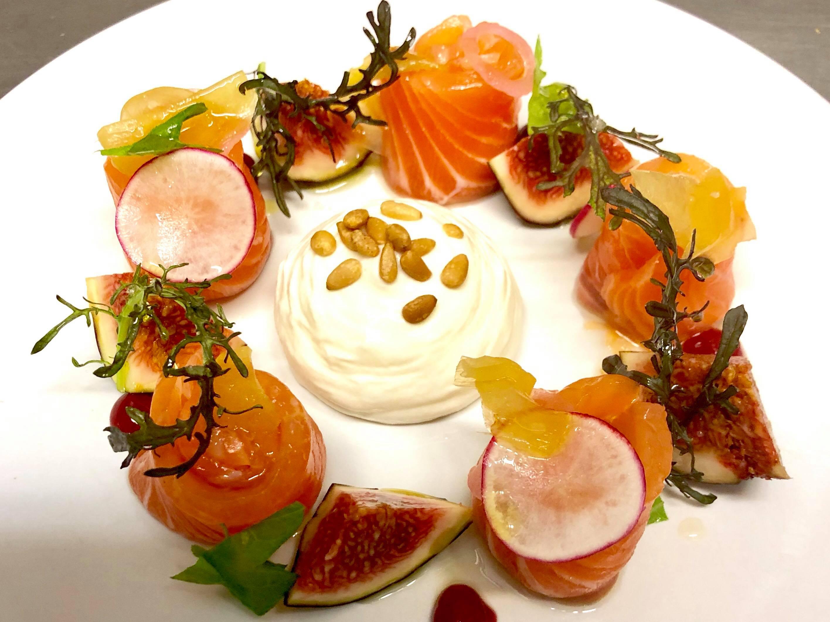 Plat bistronomique - Hôtel Fontvieille